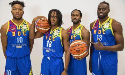 Tiebreaker Times WATCH: Ex-CEU Scorpion Rodrigue Ebondo sinks deep trey to beat halftime buzzer Basketball News  Rod Ebondo Congo (Basketball) 2019 FIBA World Cup Qualifiers