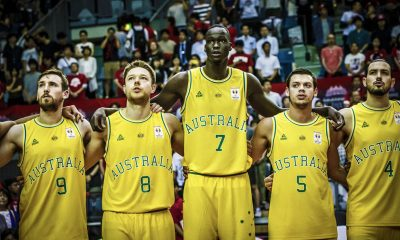 Tiebreaker Times Australia has apologized for sticker incident, SBP officials say 2019 FIBA World Cup Qualifiers Basketball Gilas Pilipinas News  Sonny Barrios Butch Antonio Australia (Basketball) 2019 FIBA World Cup Qualifiers Group B 2019 FIBA World Cup Qualifiers