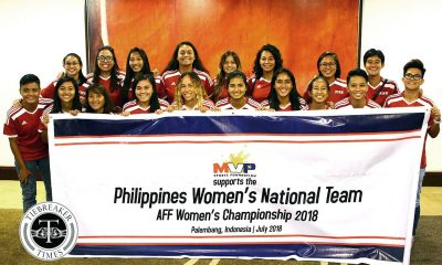 Tiebreaker Times PWNFT set to do battle at the AFF Women's Championship Football News Philippine Malditas  Stacey Cavill Sofia Harrison Quinley Quezada Patrice Impelido Pat Tomanon Nicole Reyes Kyla Inquig Irish Navaja Inna Palacios Hannah Parado Hali Long Eva Madarang Charisa Lemoran Cam Rodriguez Buda Bautista Anicka Castaneda Alisha Del Ocampo Alesa Dolino 2018 AFF Women's Championship