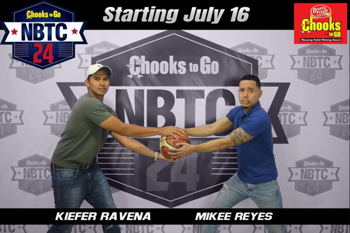 Tiebreaker Times Kiefer Ravena, Mikee Reyes host Chooks-to-Go/NBTC 24 Season 2 NBTC News  Mikee Reyes Kiefer Ravena Chooks-to-Go 2019 NBTC Season