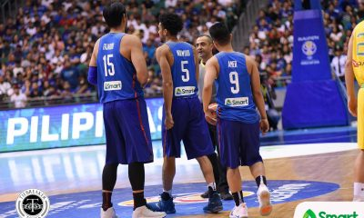 Tiebreaker Times Gilas' Terrific Three, Troy Rike earn praise 2019 FIBA World Cup Qualifiers Basketball Gilas Pilipinas News  Troy Rike Ronald Mascarinas June Mar Fajardo Gabe Norwood Chooks-to-Go Baser Amer 2019 FIBA World Cup Qualifiers Group B 2019 FIBA World Cup Qualifiers