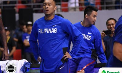 Tiebreaker Times Calvin Abueva's past offense comes back to haunt him 2019 FIBA World Cup Qualifiers Basketball Gilas Pilipinas News  Calvin Abueva Al Panlilio 2019 FIBA World Cup Qualifiers