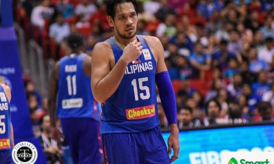 Tiebreaker Times Australia finishes off 3 remaining Gilas players to sit atop Group B 2019 FIBA World Cup Qualifiers Basketball Gilas Pilipinas News  June Mar Fajardo Gilas Elite Chris Goulding Chot Reyes Australia (Basketball) Andrej Lemanis 2019 FIBA World Cup Qualifiers Group B 2019 FIBA World Cup Qualifiers