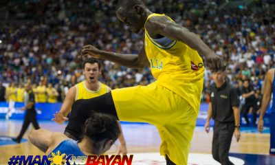 Tiebreaker Times Thon Maker could face punishment from NBA 2019 FIBA World Cup Qualifiers Basketball Gilas Pilipinas News  Thon Maker Australia (Basketball) 2019 FIBA World Cup Qualifiers Group B 2019 FIBA World Cup Qualifiers