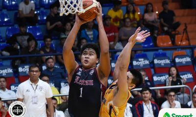 Tiebreaker Times Letran shows might, pounds JRU for second win Basketball CSJL JRU NCAA News  Vergel Meneses NCAA Season 94 Seniors Basketball NCAA Season 94 Letran Seniors Basketball Leo Esguerra Larry Muyang JRU Seniors Basketball Jeff Napa Jed Mendoza Christian Fajarito