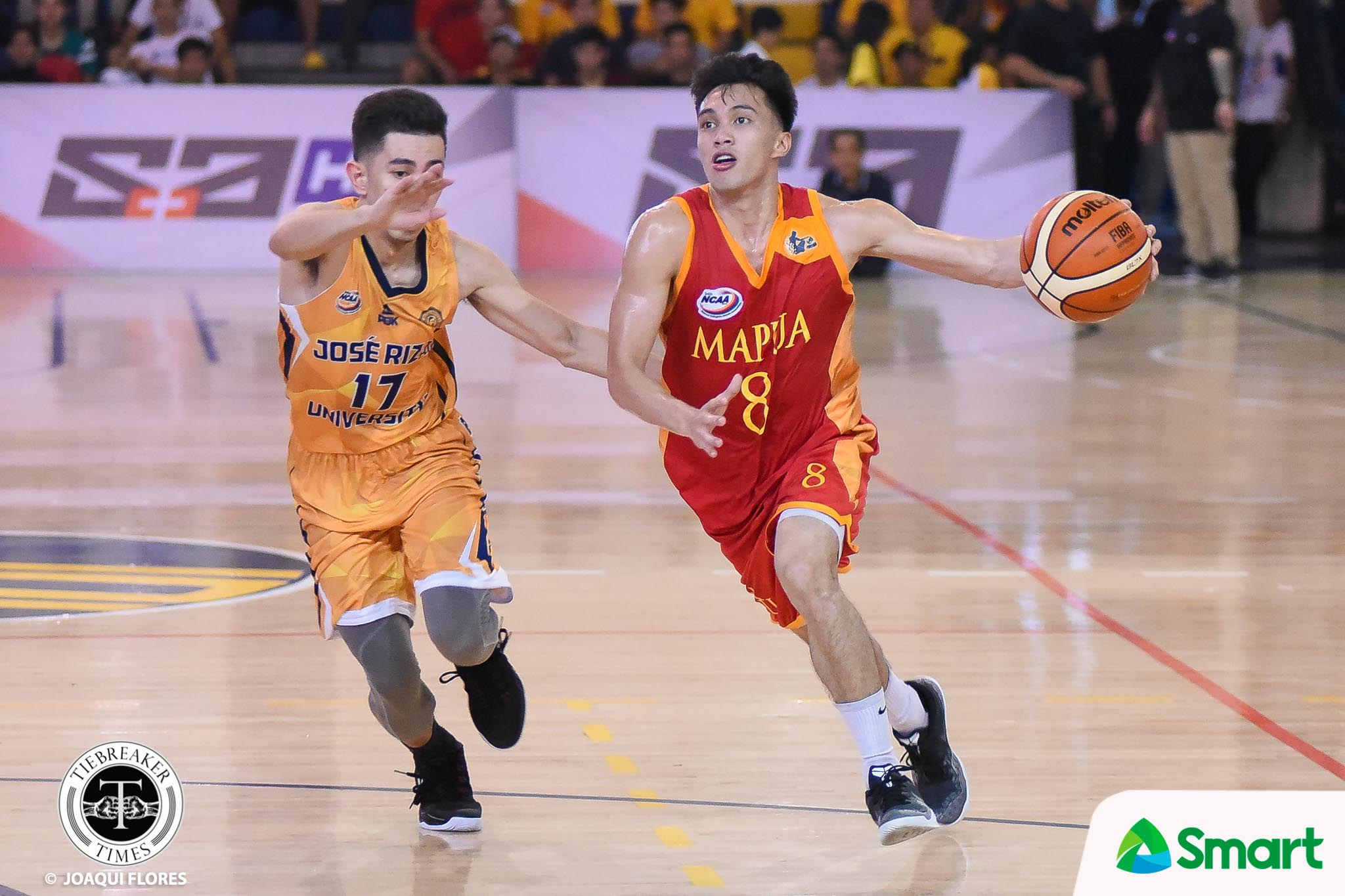 Tiebreaker Times Eric Jabel shines as Mapua conquers JRU for first win Basketball JRU MIT NCAA News  Warren Bonifacio Vergel Meneses RJ David NCAA Season 94 Seniors Basketball NCAA Season 94 Mapua Seniors Basketball Laurenz Victoria JRU Seniors Basketball Jed Mendoza Eric Jabel Atoy Co