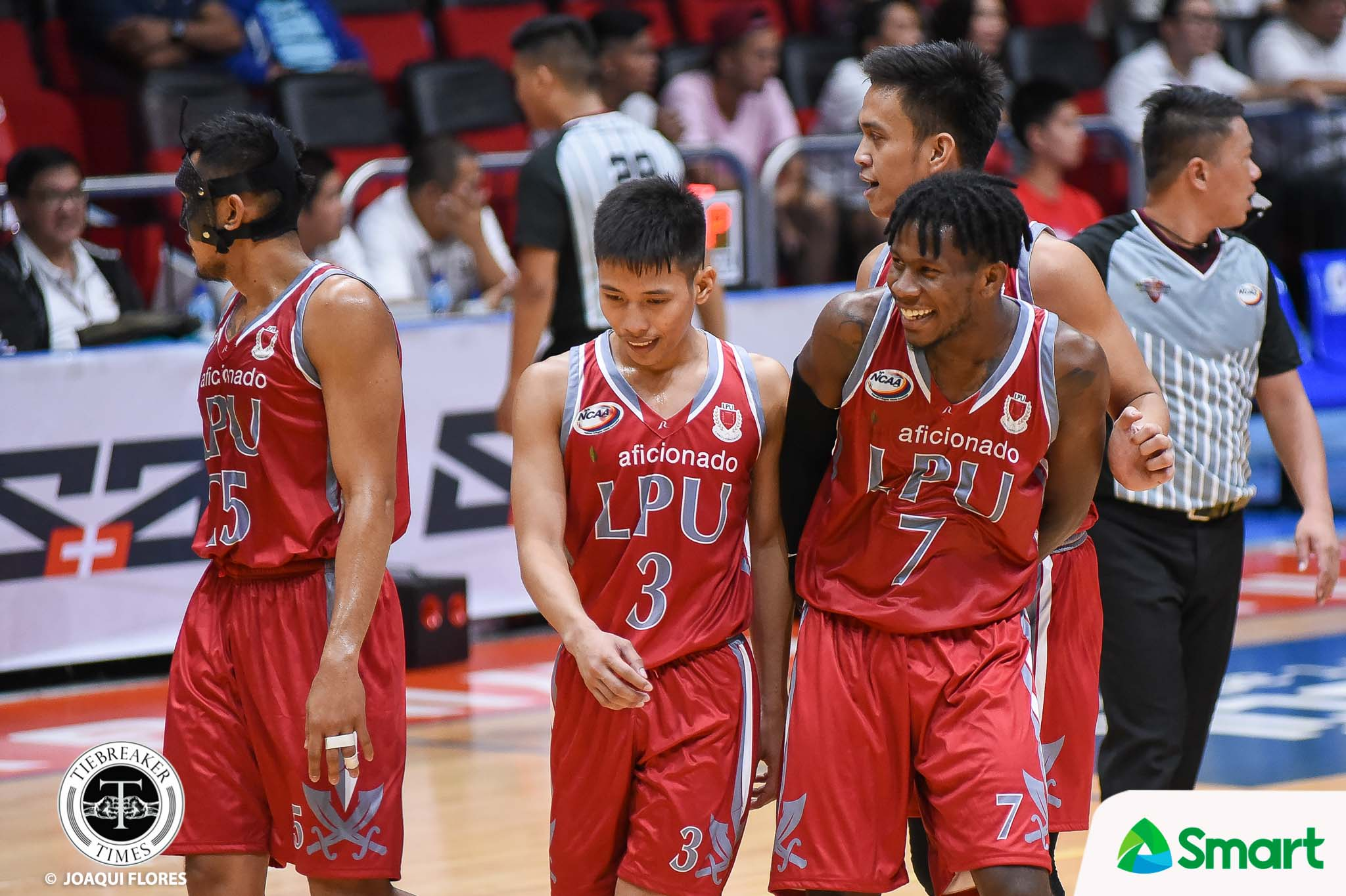 Tiebreaker Times Topex Robinson lets Jaycee Marcelino, Pirates figure things out on their own Basketball LPU NCAA News  Topex Robinson NCAA Season 94 Seniors Basketball NCAA Season 94 Lyceum Seniors Basketball Jaycee Marcelinio