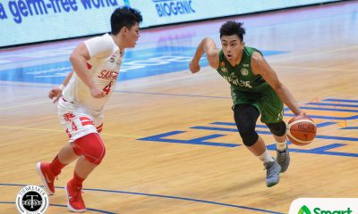 Tiebreaker Times Justin Gutang keeps faith amid lackluster start Basketball CSB NCAA News  TY Tang NCAA Season 94 Seniors Basketball NCAA Season 94 Justin Gutang Benilde Seniors Basketball