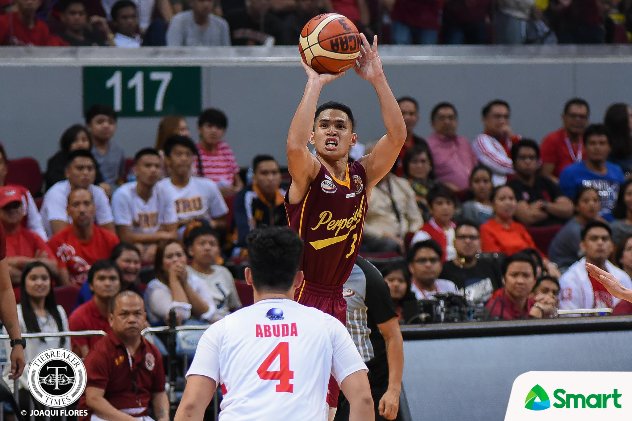 Tiebreaker Times Frankie Lim on Perpetual's close game against San Beda: 'They have to admit it, kinabahan sila' Basketball NCAA News UPHSD  Perpetual Seniors Basketball NCAA Season 93 Seniors Basketball NCAA Season 93 Frankie Lim