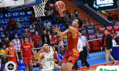 Tiebreaker Times San Sebastian flaunts experience over Benilde for bounce back win Basketball CSB NCAA News SSC-R  Yankie Haruna TY Tang San Sebastian Seniors Basketball RK Ilagan NCAA Season 94 Seniors Basketball NCAA Season 94 Michael Calisaan Edward Dixon Benilde Seniors Basketball Allyn Bulanadi