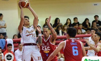 Tiebreaker Times 'Rookie' Kim Aurin embraces role as Frankie Lim's utility player Basketball NCAA News UPHSD  Perpetual Seniors Basketball NCAA Season 94 Seniors Basketball NCAA Season 94 Kim Aurin Frankie Lim