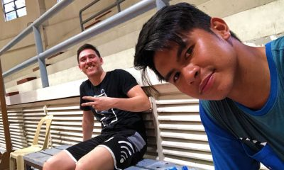 Tiebreaker Times Robert Bolick relishes opportunity to train with Kiefer Ravena Basketball NCAA News SBC  San Beda Seniors Basketball Robet Bolick NCAA Season 94 Seniors Basketball NCAA Season 94 Kiefer Ravena
