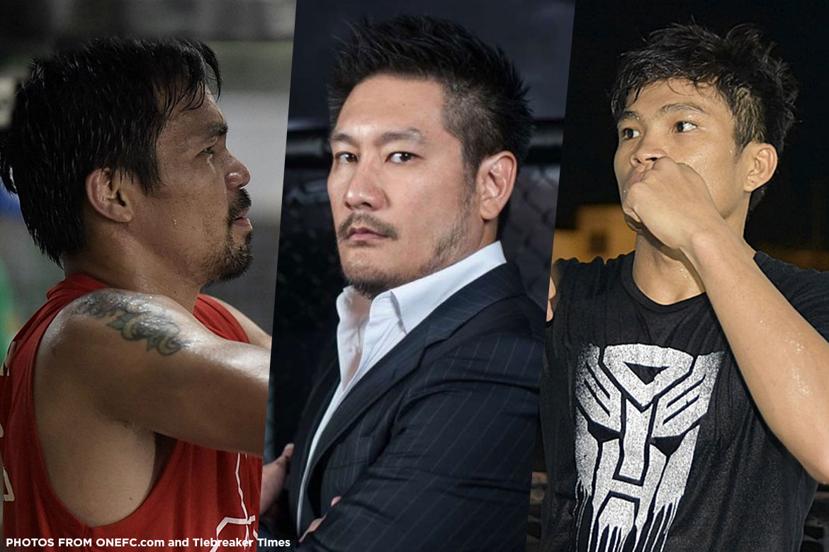 Tiebreaker Times ONE Championship dead serious in promoting boxing Boxing News ONE Championship  Nakornloung Promotion Manny Pacquiao Jerwin Ancajas Chatri Sityodtong