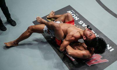 Tiebreaker Times Joshua Pacio's 'Passion lock' a result of Lakay's Baguio Jiu-jitsu Mixed Martial Arts News ONE Championship  Team Lakay ONE: Reign of Kings Joshua Pacio Eduard Folayang