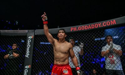 Tiebreaker Times Eduard Folayang sees Buist bout as perfect test Mixed Martial Arts News ONE Championship  Team Lakay Pieter Buist ONE: Fire and Fury Eduard Folayang