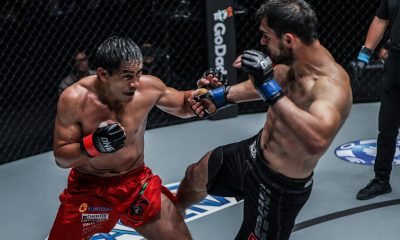 Tiebreaker Times Eduard Folayang batters Aziz Pahrudinov for 2nd straight win Mixed Martial Arts News ONE Championship  Rahul Ruju ONE: Reign of Kings Garry Tonon Eduard Folayang Aziz Pahrudinov