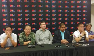 Tiebreaker Times PBA governors on SBP's Asiad pullout: 'Parang nilaglag kami' Basketball Gilas Pilipinas News PBA  Robert Non Rene Pardo Raymond Zorilla PBA Season 43 Alfrancis Chua 2018 Asian Games-Basketball 2018 Asian Games
