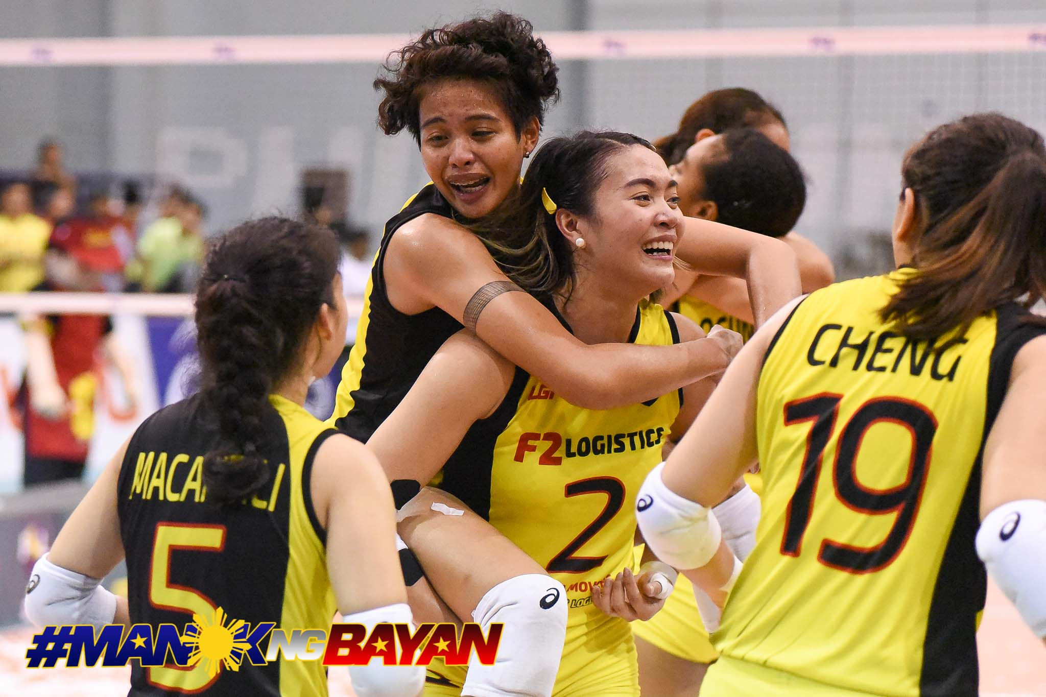 Tiebreaker Times After almost quitting volleyball, Ara Galang regains MVP form News PSL Volleyball  Ramil De Jesus F2 Logistics Cargo Movers Ara Galang 2018 PSL Season 2018 PSL Invitational Cup