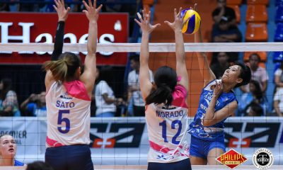 Tiebreaker Times Pocari Sweat-Air Force romps Iriga-Navy for second win News PVL Volleyball  Wendy Semana Pocari Sweat-Air Force Lady Warriors Myla Pablo May Ann Pantino Jellie Tempiatura Jasper Jimenez Iriga-Navy Lady Oragons Egay Rusit Divine Eguia 2018 PVL Season 2018 PVL Open Conference