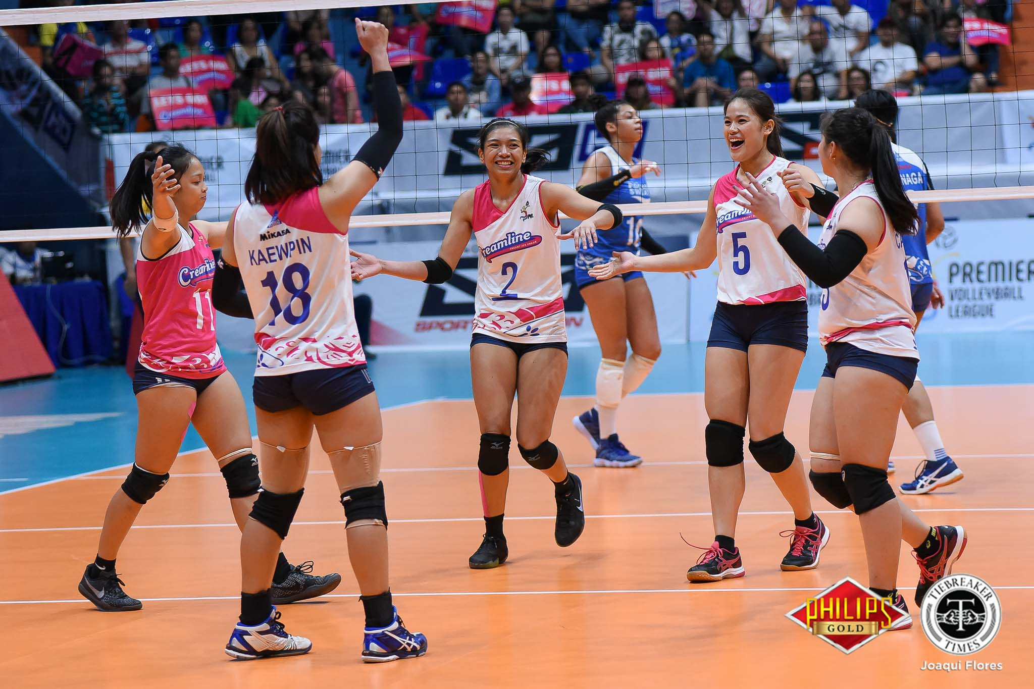 Tiebreaker Times After clinching Finals berth, Creamline, Alyssa Valdez to play with less pressure News PVL Volleyball  Creamline Cool Smashers Alyssa Valdez 2018 PVL Women's Reinforced Conference 2018 PVL Season