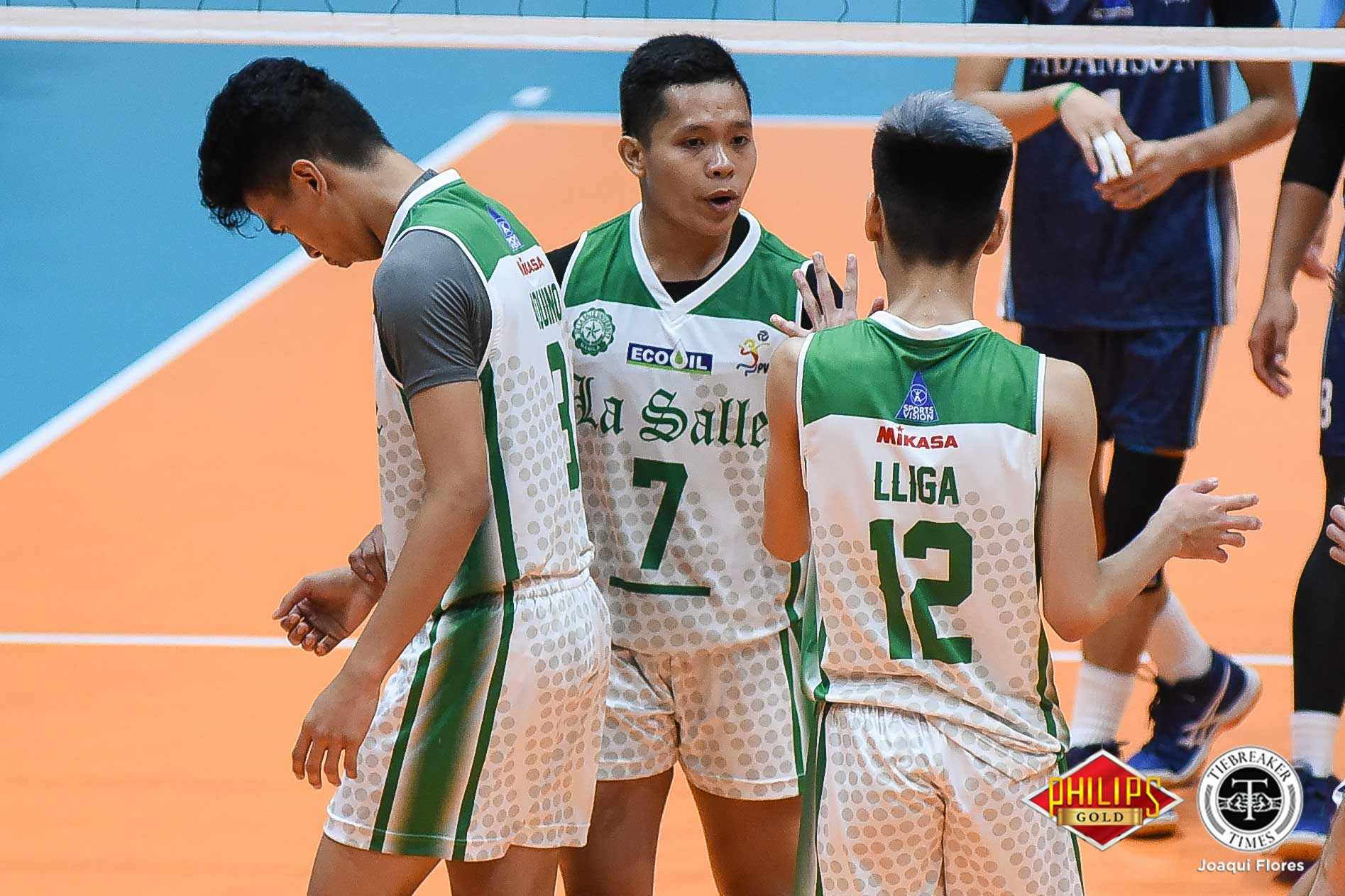 Tiebreaker Times La Salle cruises past San Beda for maiden win DLSU News PVL SBC Volleyball  Wayne Marco San Beda Men's Volleyball Raphael Sumalinog Nes Pamilar Jomaru Amagan DLSU Men's Volleyball Cris Dumago Christian Antiporta 2018 PVL Season 2018 PVL Men's Collegiate Conference