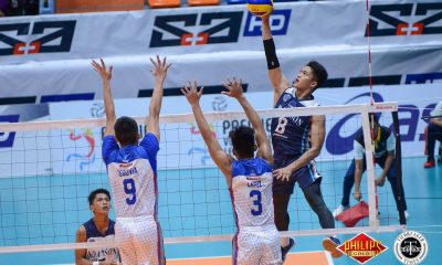 Tiebreaker Times Paolo Pablico hammers 30 as Adamson tramples Arellano for first win AdU AU News PVL Volleyball  Sherwin Meneses Pao Pablico Leonard Amburgo Kevin Florendo George Labang Domeng custodio Christian dela Paz Arellano Men's Volleyball Adamson Men's Volleyball 2018 PVL Season 2018 PVL Men's Collegiate Conference