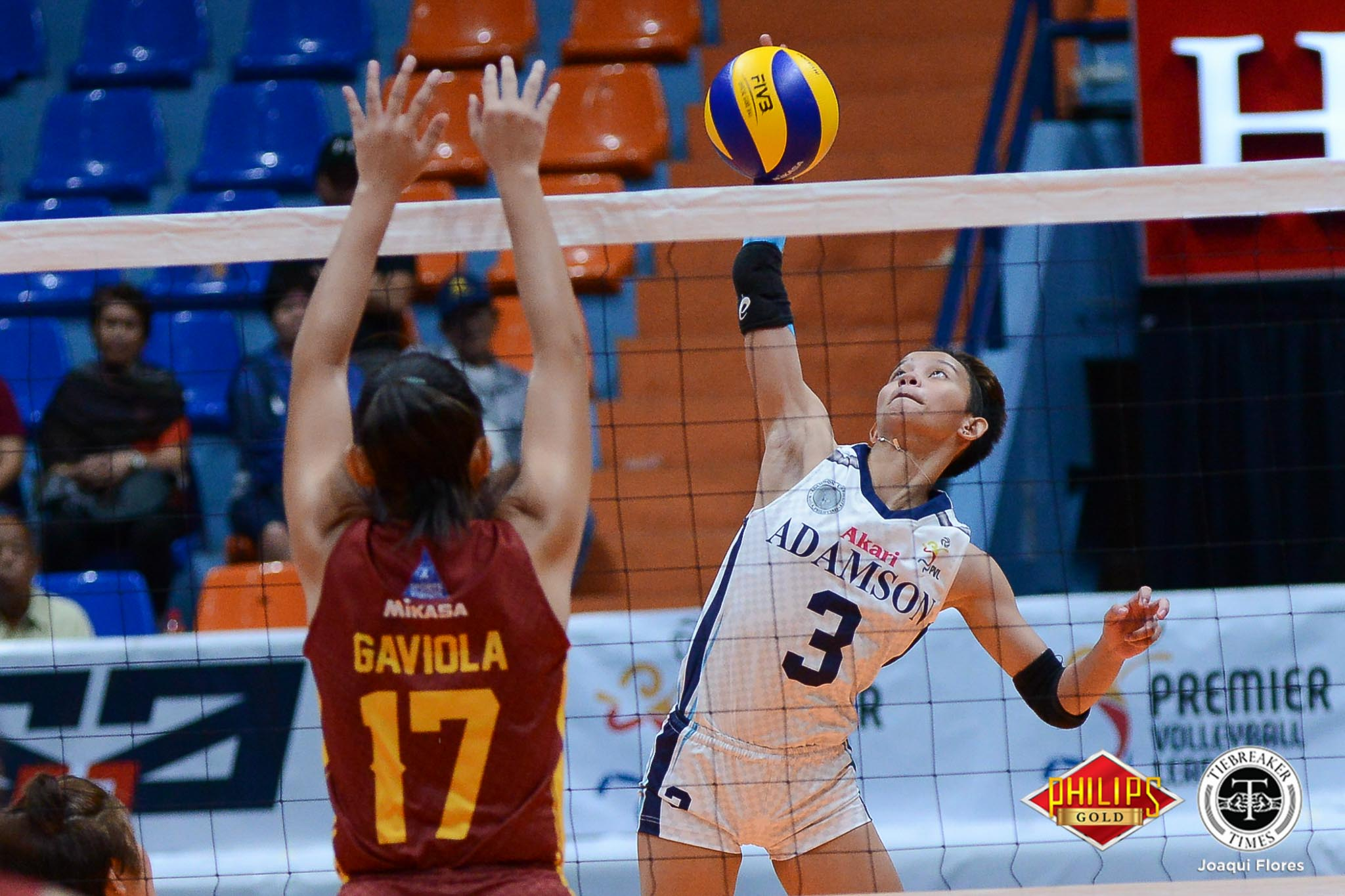 Tiebreaker Times Lady Falcons sweep elimination round, send winless Lady Stags packing AdU News PVL SSC-R Volleyball  Thang Ponce Shannai Requirme San Sebastian Women's Volleyball Roger Gorayeb MJ Igao Eli Soyud Bernadette Flora Airess Padda Adamson Women's Volleyball 2018 PVL Women's Collegiate Conference 2018 PVL Season