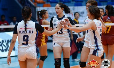 Tiebreaker Times Eli Soyud, Lady Falcons remain steadfast in rebuilding process AdU News PVL Volleyball  Eli Soyud Air Padda Adamson Women's Volleyball 2018 PVL Women's Collegiate Conference 2018 PVL Season
