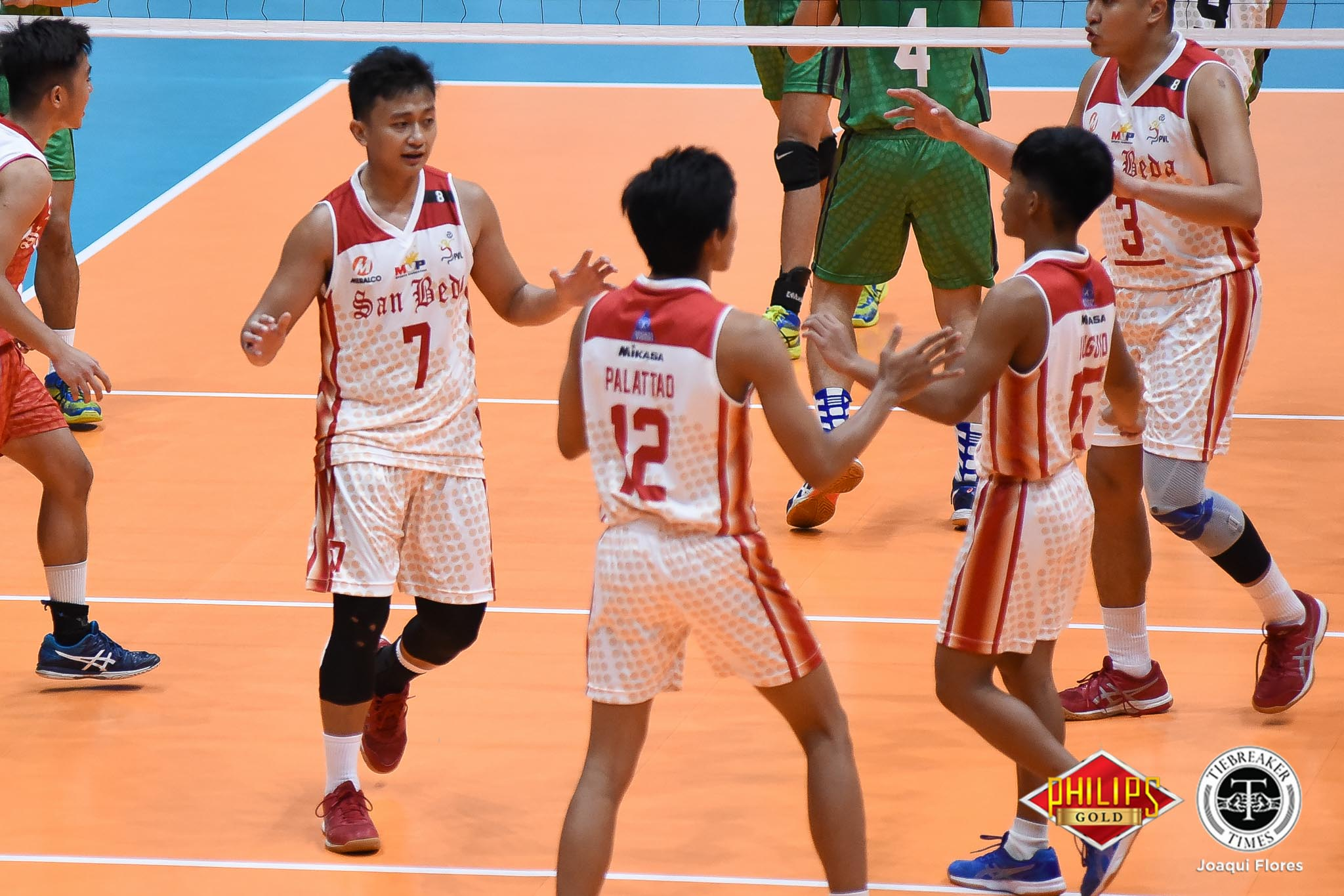 Tiebreaker Times San Beda roars to second win at Arellano's expense AU News PVL SBC Volleyball  Sherwin Meneses San Beda Men's Volleyball Nes Pamilar Jomaru Amagan Jeremiah Tibay Jeffrey Losa Demy Lapuz Christian dela Paz Arellano Men's Volleyball 2018 PVL Season 2018 PVL Men's Collegiate Conference