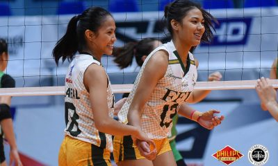 Tiebreaker Times Celine Domingo embracing role as Lady Tams' senior FEU News PVL Volleyball  FEU Women's Volleyball Celine Domingo 2018 PVL Women's Collegiate Conference 2018 PVL Season