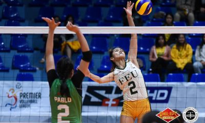 Tiebreaker Times FEU's new number 2: Lycha Ebon shows solid potential FEU News PVL Volleyball  Lycha Ebon George Pascua FEU Women's Volleyball 2018 PVL Women's Collegiate Conference 2018 PVL Season
