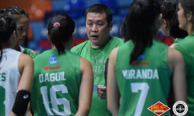 Tiebreaker Times Jerry Yee takes over as Saint Benilde's head coach CSB News PVL Volleyball  Saint Benilde Women's Volleyball Jerry Yee 2018 PVL Women's Collegiate Conference 2018 PVL Season