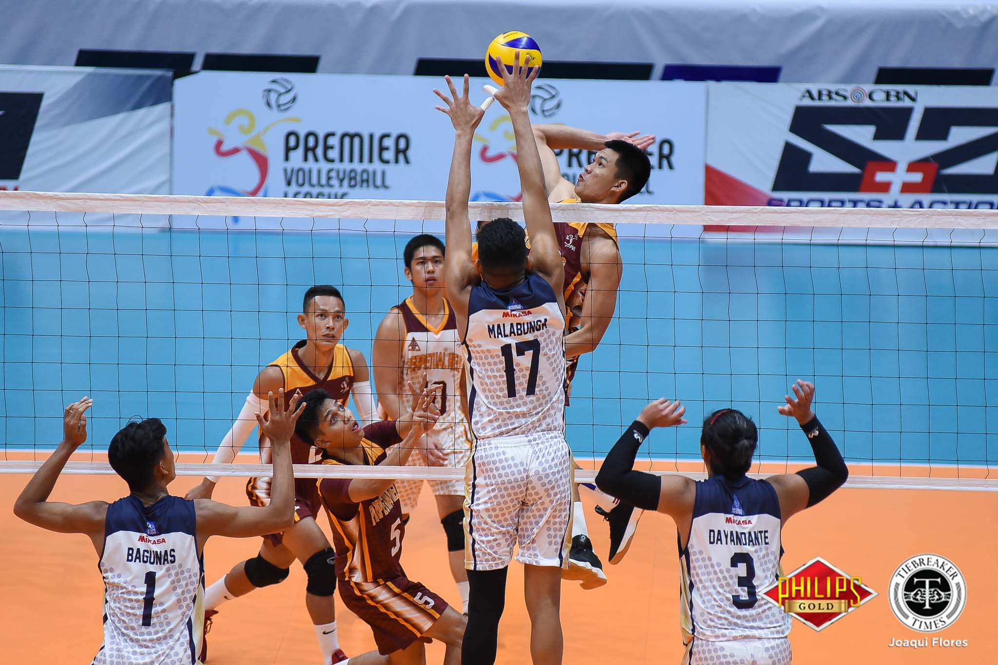 Tiebreaker Times Perpetual pounds La Salle for second straight win DLSU News PVL UPHSD Volleyball  Ryann Go Perpetual Men's Volleyball Patrick Ramos Norman Miguel Kieffer Reyes Joebert Almodiel Joaquin Marcelo Geraint Bacon EJ Casana DLSU Men's Volleyball 2018 PVL Season 2018 PVL Men's Collegiate Conference