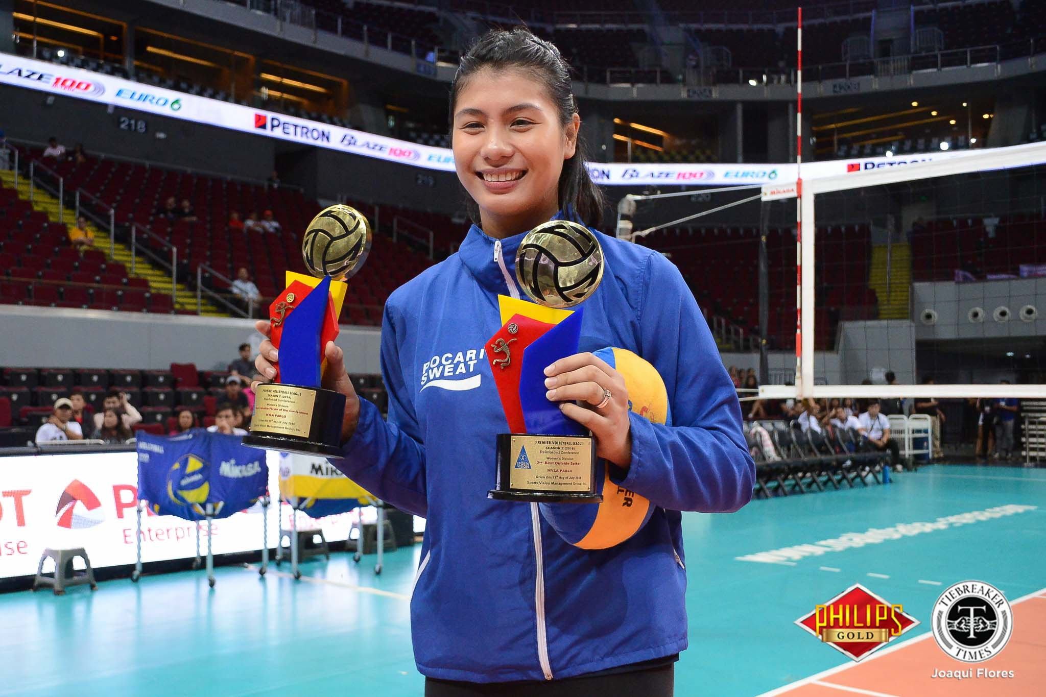 PVL-Reinforced-Awarding-Pablo-3022 'Investment' in PVL pays off for Myla Pablo, Grethcel Soltones News PVL Volleyball  - philippine sports news