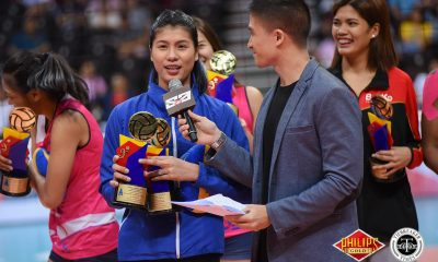 Tiebreaker Times Myla Pablo still rues missing do-or-die match after bagging 2nd MVP News PVL Volleyball  Pocari Sweat-Air Force Lady Warriors Myla Pablo 2018 PVL Women's Reinforced Conference 2018 PVL Season