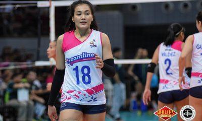 Tiebreaker Times Creamline takes Game One, steps closer to first title News PVL Volleyball  Tess Rountree Tai Bundit Roger Gorayeb PayMaya High Flyers Melissa Gohing Kuttika Kaewpin Jia Morado Grethcel Soltones Creamline Cool Smashers Alyssa Valdez 2018 PVL Women's Reinforced Conference 2018 PVL Season