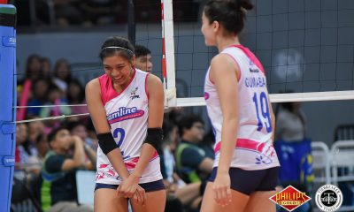 Tiebreaker Times Getting break from Tai Bundit's training motivating Creamline to clinch title in Game Two News PVL Volleyball  Michele Gumabao Creamline Cool Smashers Alyssa Valdez 2018 PVL Women's Reinforced Conference 2018 PVL Season