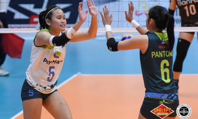 Tiebreaker Times PayMaya outlasts BanKo Perlas to force Game 3 News PVL Volleyball  Tess Rountree Shelby Sullivan Roger Gorayeb Perlas Lady Spikers PayMaya High Flyers Lizlee Ann Pantone Kia Bright Jutarat Montripila Jasmine Nabor Grethcel Soltones Dong dela Cruz 2018 PVL Season 2018 PSL Women's Reinforced Conference
