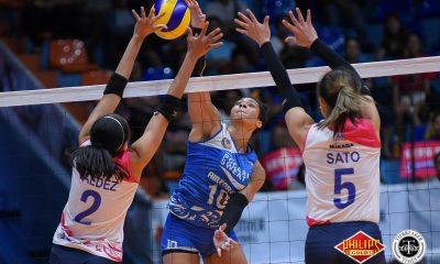 Tiebreaker Times Pocari Sweat-Air Force stuns top-seeded Creamline in series opener News PVL Volleyball  Wendy Semana Tai Bundit Pocari Sweat-Air Force Lady Warriors Myla Pablo Jellie Tempiatura Jasper Jimenez Creamline Cool Smashers Arielle Love Alyssa Valdez 2018 PVL Women's Reinforced Conference 2018 PVL Season