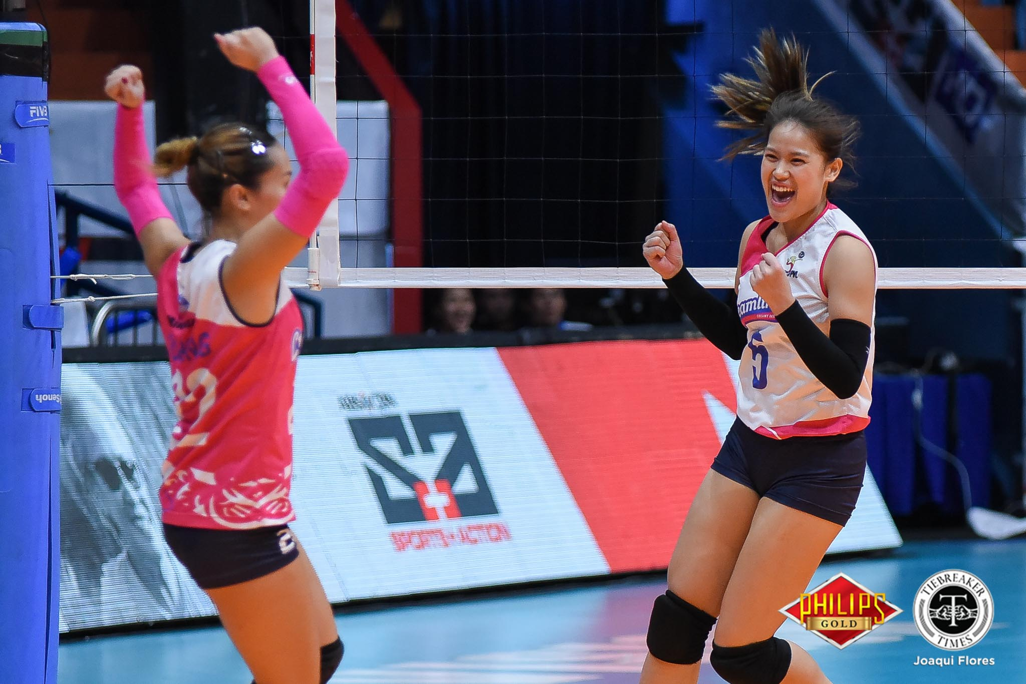 Tiebreaker Times Arielle Love, Pocari Sweat-Air Force play inspired volleyball News PVL Volleyball  Pocari Sweat-Air Force Lady Warriors Jasper Jimenez Arielle Love 2018 PVL Women's Reinforced Conference 2018 PVL Season