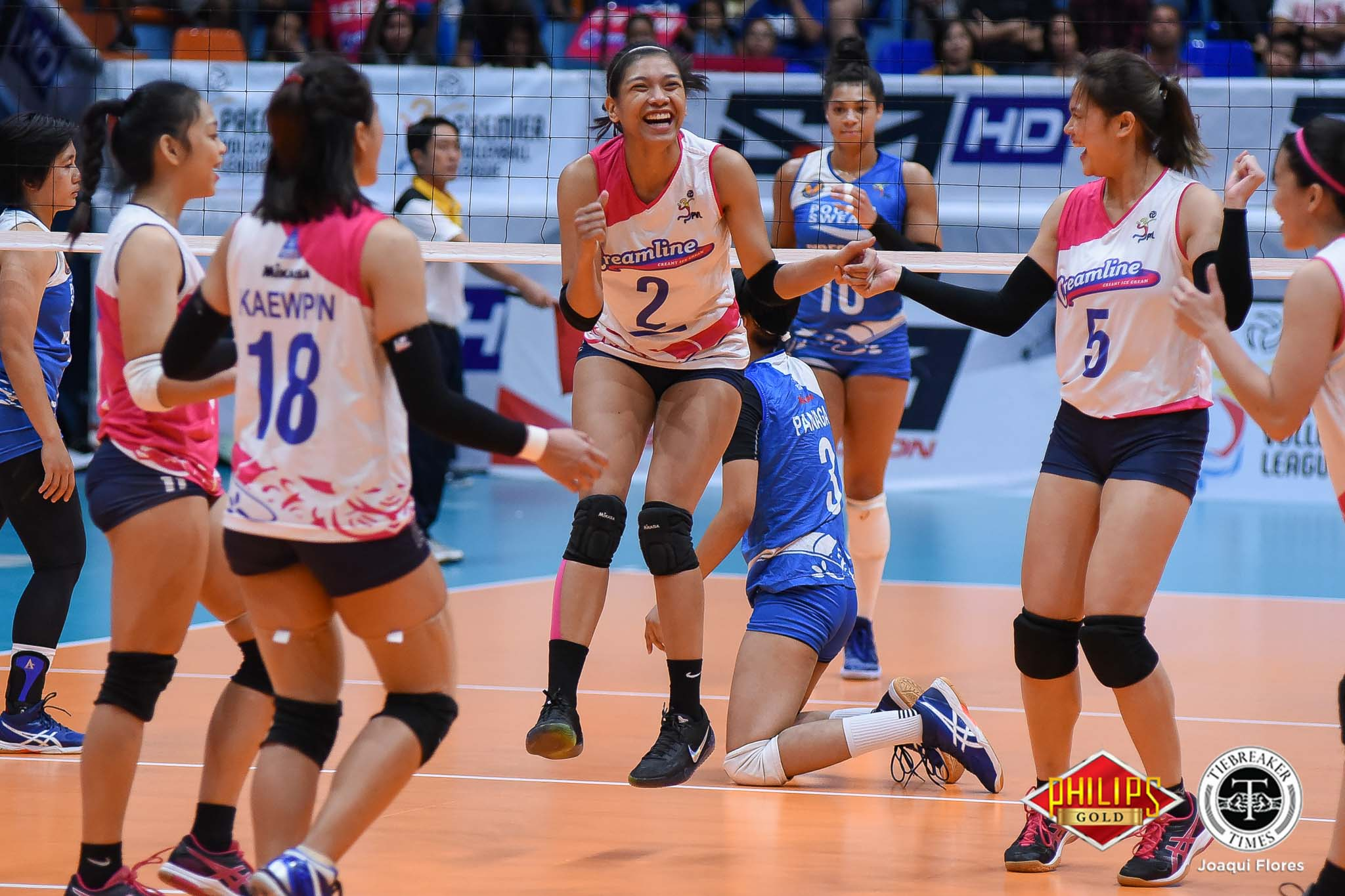 Tiebreaker Times No excuses for Creamline after straight-set, Game One loss, says Alyssa Valdez News PVL Volleyball  Creamline Cool Smashers Alyssa Valdez 2018 PVL Women's Reinforced Conference 2018 PVL Season