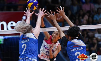 Tiebreaker Times Creamline enters Finals for first time, shuts down deflated Pocari Sweat-Air Force News PVL Volleyball  Tai Bundit Pocari Sweat-Air Force Lady Warriors Myla Pablo Melissa Gohing Kuttika Kaewpin Jia Morado Jasper Jimenez Creamline Cool Smashers Arielle Love Alyssa Valdez 2018 PVL Women's Reinforced Conference 2018 PVL Season