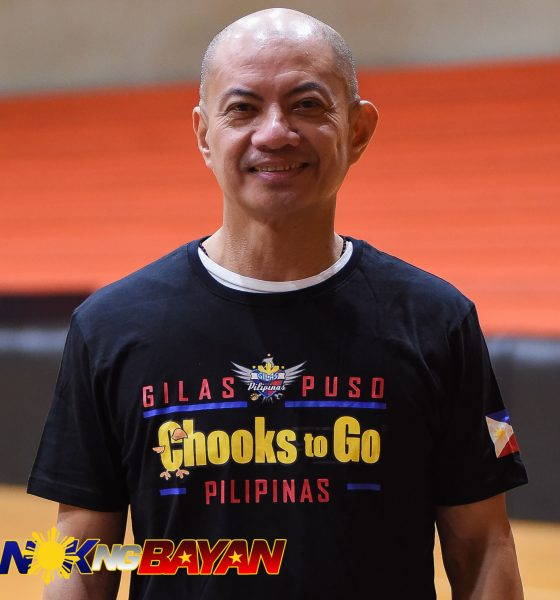 Tiebreaker Times Yeng Guiao to steer Gilas' ship in World Cup Qualifiers second round Basketball Gilas Pilipinas News  Yeng Guiao Gilas Elite Chot Reyes 2019 FIBA World Cup Asian Qualifiers