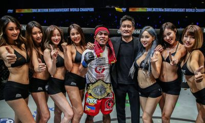 Tiebreaker Times Kevin Belingon on winning interim crown: 'Wala ng contender, contender' Mixed Martial Arts News ONE Championship  Team Lakay ONE: Reign of Kings Kevin Belingon