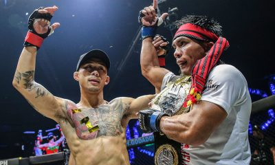 Tiebreaker Times Kevin Belingon dominates Martin Nguyen to win interim crown Mixed Martial Arts News ONE Championship  ONE: Reign of Kings Martin Nguyen Kevin Belingon