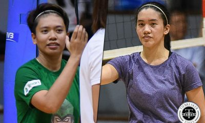 Tiebreaker Times Kim Fajardo, Jia Morado working in unison to figure out PWNVT's offense News Volleyball  Kim Fajardo Jia Morado 2018 Asian Games-Volleyball 2018 Asian Games