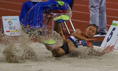 Tiebreaker Times Grizzled Marestella Torres-Sunang ends up 9th; Eric Cray falls to 7th in 400m hurdles News Track & Field  Marestella Torres-Sunang Eric Cray 2018 Asian Games-Athletics 2018 Asian Games