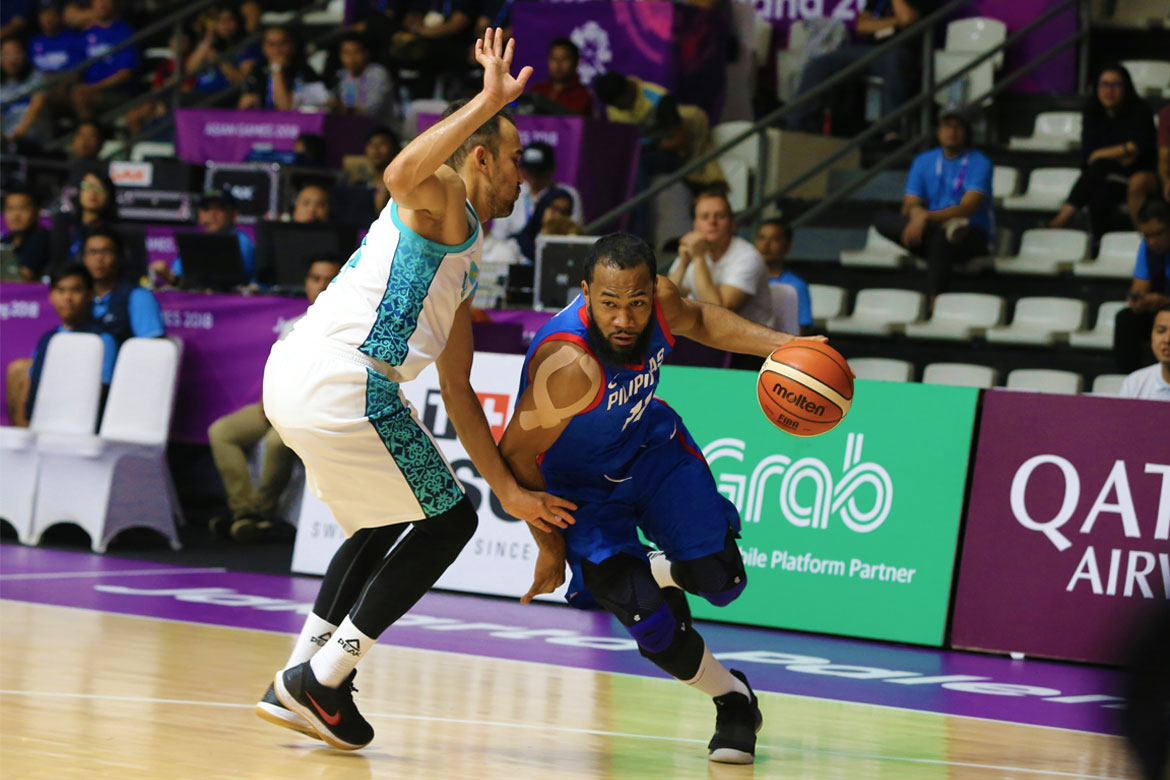 Tiebreaker Times Gilas hand Kazakhstan 37-point rout, inch closer to quarterfinals Basketball Gilas Pilipinas News  Yeng Guiao Stanley Pringle Paul Lee Kazakhstan (Basketball) James Yap Gilas Elite Christian Standhardinger Anton Bykov 2018 Asian Games-Basketball 2018 Asian Games