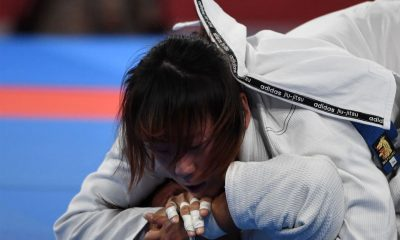 Tiebreaker Times Annie Ramirez overpowered in new weight class Brazilian Jiu Jitsu News  Carlos Pena Apryl Eppinger Annie Ramirez 2018 Asian Games-Jiujitsu