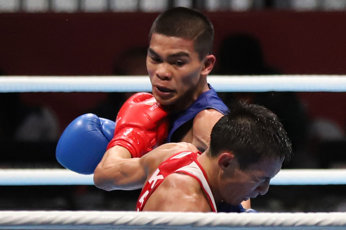 Tiebreaker Times Carlo Paalam bids farewell to gold medal hopes Boxing News  carlo paalam 2018 Asian Games-Boxing 2018 Asian Games
